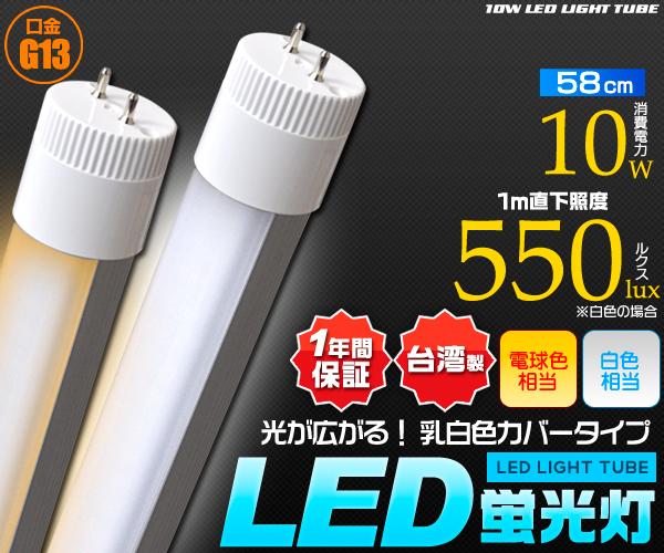 20W型乳白色カバーLED蛍光灯